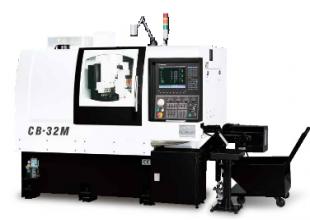 Máy tiện 2 trục chính CNC
