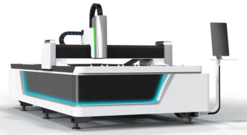 Máy laser cắt tấm 6100x2000